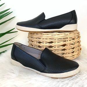 Dansko Odina Black Nappa Slip On Sneakers